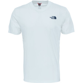 The North Face Redbox Cel T-shirt Heren, tnf white/urban navy